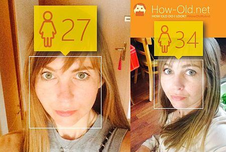 Ich sehe alt aus