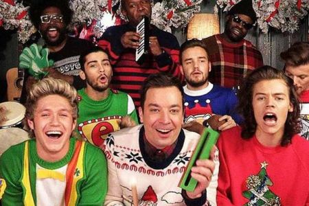 One Direction Richtung Christmas