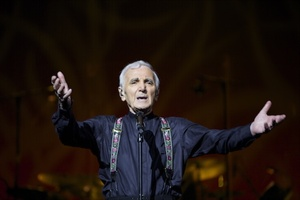 After 9 years the legend returns… CHARLES AZNAVOUR!