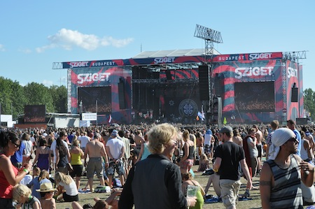 Sziget Day 1 - Only Sex, Drugs and Rock'n'Roll?