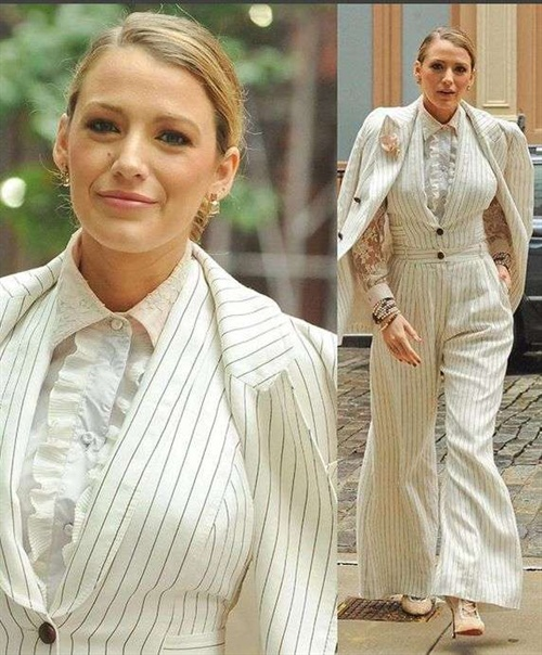 XXL-Hosen für Blake Lively - Hot or drop?